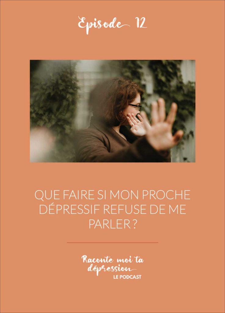 dépressif refuse parler