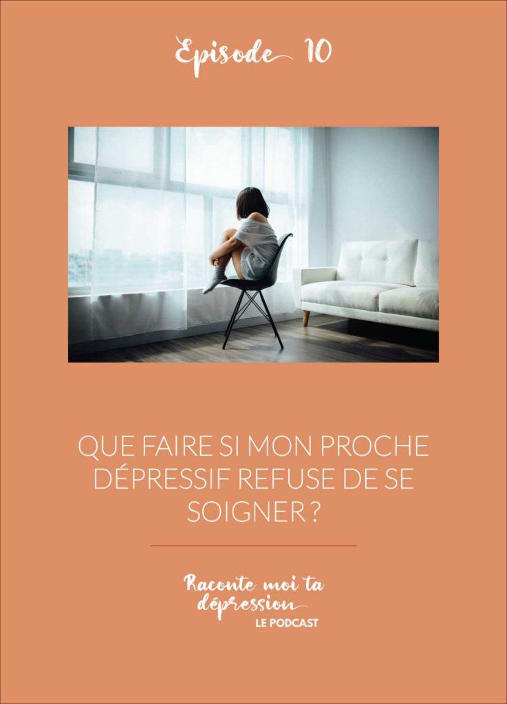 dépressif refuse de soigner