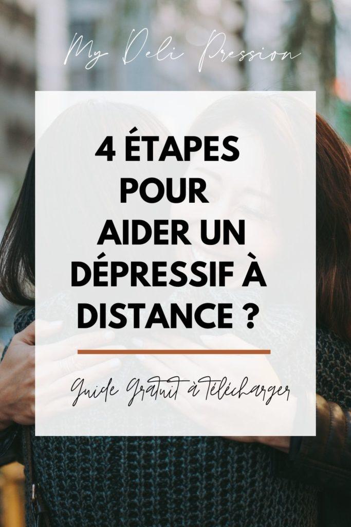 comment aider un dépressif