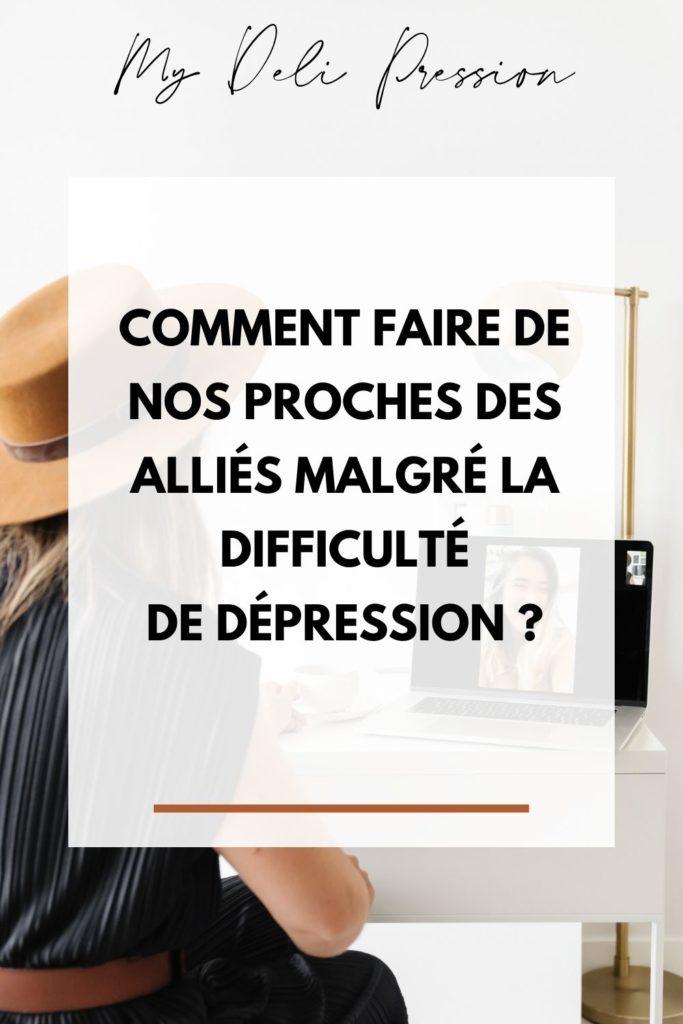 aider proche dépression