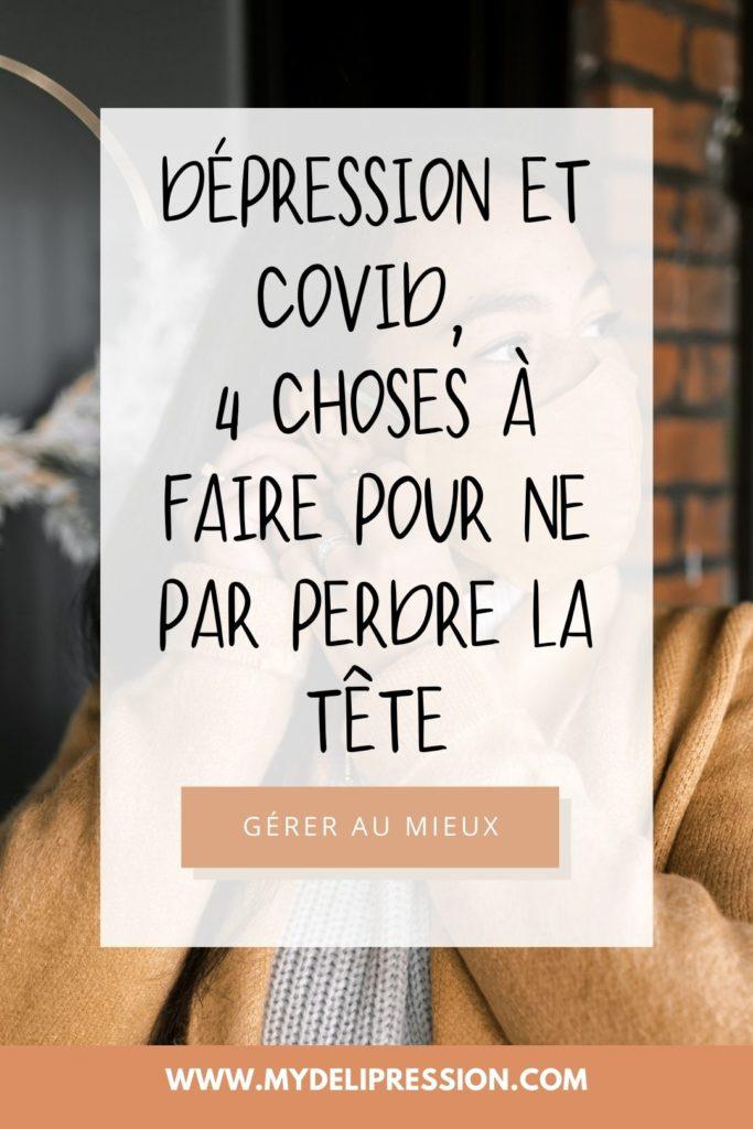 dépression et crise sanitaire