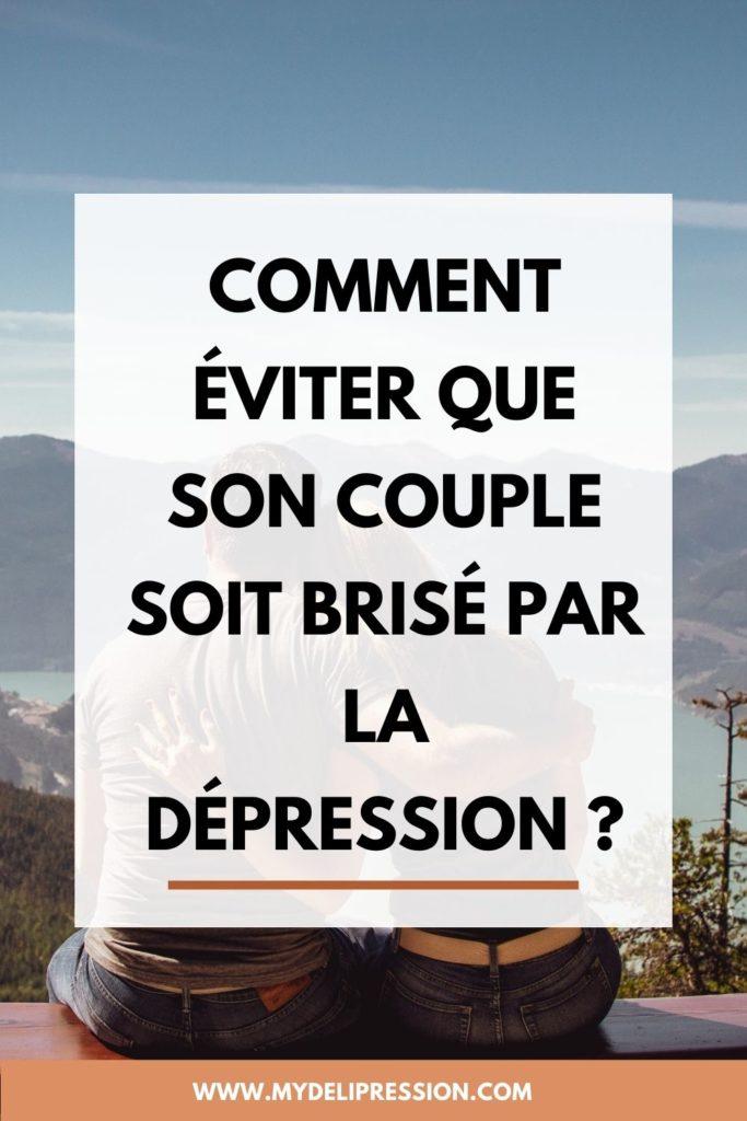 couple dépression briser